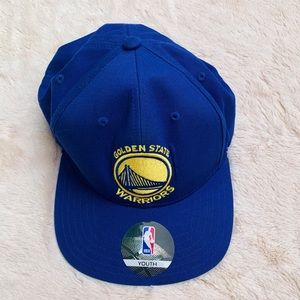 Golden State Warriors Youth Baseball Cap